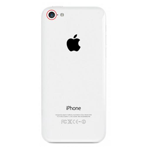 apple iphone 5c reparation bakre kamera
