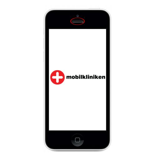 apple iphone 5c reparation samtalshögtalare