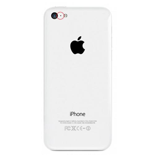 apple iphone 5c reparation videomikrofon bakre kamera