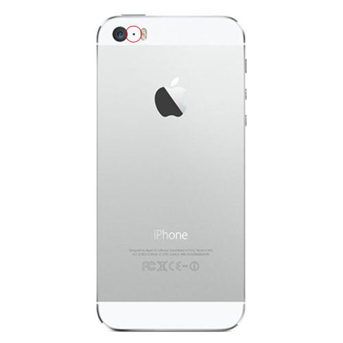 apple iphone 5s reparation bakre videomikrofon