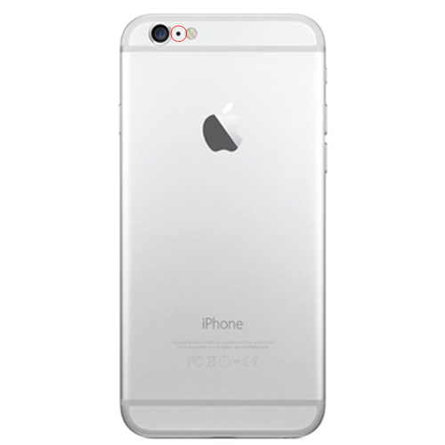 apple iphone 6 reparation bakre videomikrofon