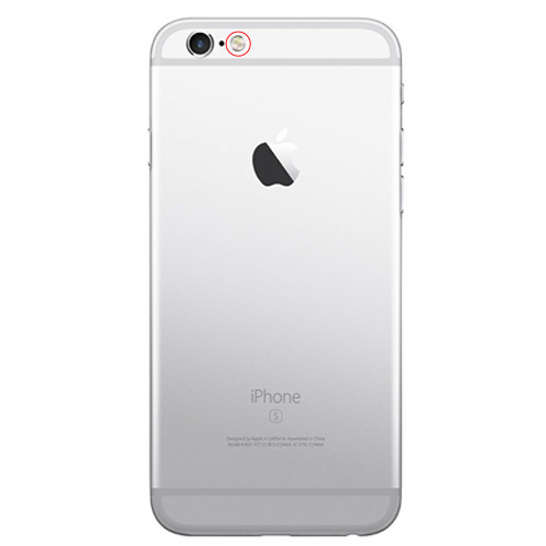 apple iphone 6s reparation ficklampa/blixt